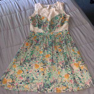 dELiA*s Floral and Lace Dress